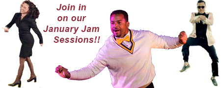 Join in on our January Jam Sessions this month