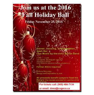 Fall Holiday Ball 2016